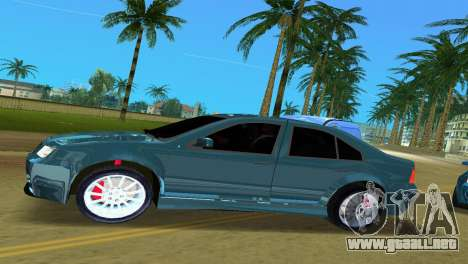 Volkswagen Bora para GTA Vice City left
