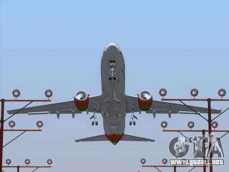 Boeing 737-800 Zest Air para las ruedas de GTA San Andreas