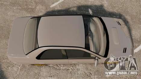Subaru Impreza WRX STI 1999 [Final] para GTA 4 visión correcta