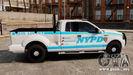 Ford F-150 v3.3 NYPD [ELS & EPM] v2 para GTA 4 left
