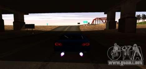 ENB Graphic Mod para GTA San Andreas sexta pantalla