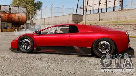 Lamborghini Murcielago RGT para GTA 4 left
