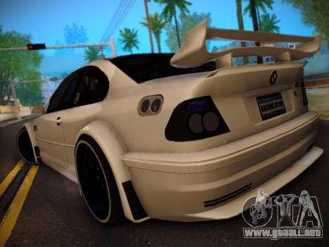 BMW M3 E46 Tuning para GTA San Andreas left