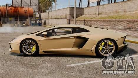 Lamborghini Aventador LP700-4 2012 v2.0 para GTA 4 left