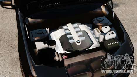 BMW X5 4.8iS v1 para GTA 4 vista interior