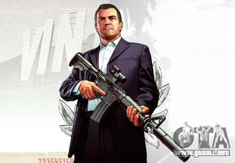 Piel de Michael de GTA V para GTA San Andreas