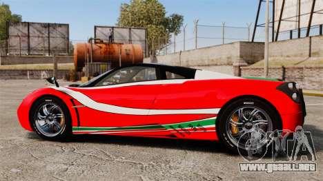 Pagani Huayra 2011 [EPM] Italian para GTA 4 left