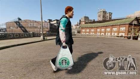 Los paquetes de logotipo de Starbucks Coffee para GTA 4
