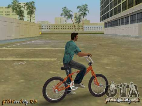 Bici de BMX Ghetto K2B para GTA Vice City
