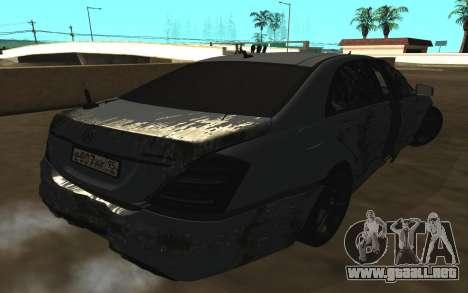 Mercedes-Benz S65 AMG W221 para el motor de GTA San Andreas