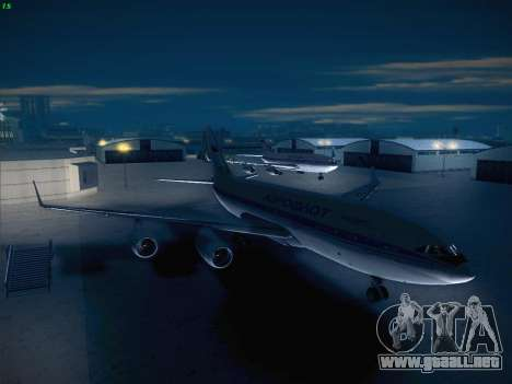 Real Airport 1.0 para GTA San Andreas segunda pantalla