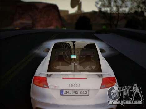 Audi TT RS 2013 para visión interna GTA San Andreas