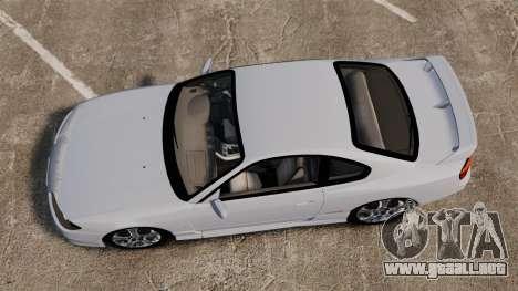 Nissan Silvia S15 v1 para GTA 4 visión correcta