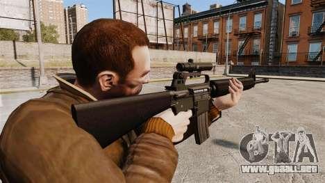 M16 A2 para GTA 4 segundos de pantalla