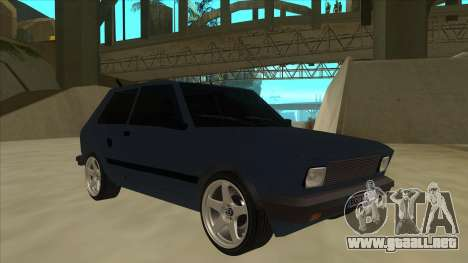 Zastava Yugo 1.1 para GTA San Andreas left