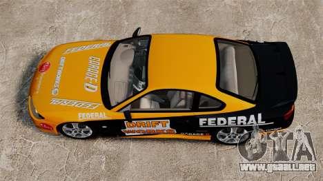 Nissan Silvia S15 v2 para GTA 4 visión correcta
