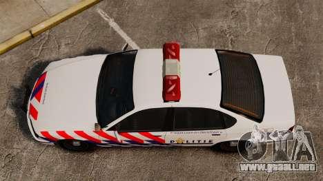 Policía holandesa para GTA 4 visión correcta