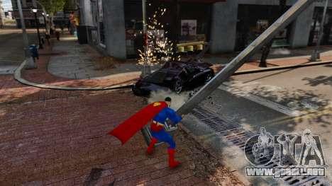 Guión de Superman para GTA 4 sexto de pantalla