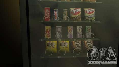 Nueva máquina expendedora de snèkovyj para GTA 4 segundos de pantalla