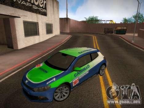 Volkswagen Scirocco para la vista superior GTA San Andreas