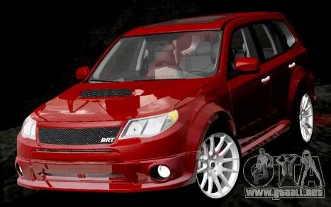 Subaru Forester RRT Sport 2008 v2.0 para GTA San Andreas