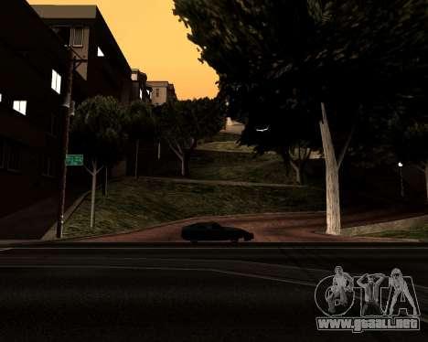Satanic Colormode para GTA San Andreas sucesivamente de pantalla