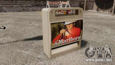 Nueva máquina expendedora de cigarrillos para GTA 4 tercera pantalla