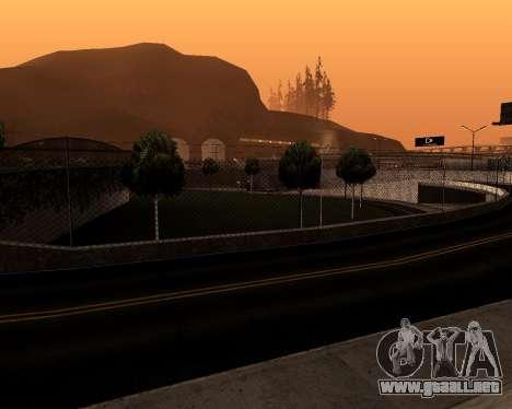 Satanic Colormode para GTA San Andreas segunda pantalla