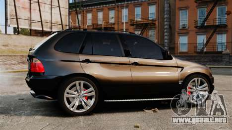 BMW X5 4.8iS v1 para GTA 4 left