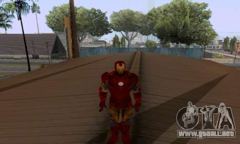 Skins Pack - Iron man 3 para GTA San Andreas novena de pantalla
