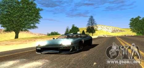 ENB Graphic Mod para GTA San Andreas quinta pantalla