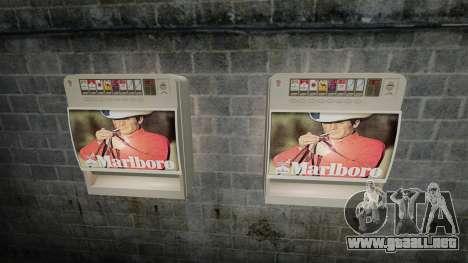 Nueva máquina expendedora de cigarrillos para GTA 4