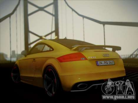 Audi TT RS 2013 para GTA San Andreas left