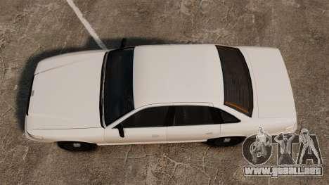 Un taxi civil para GTA 4 visión correcta
