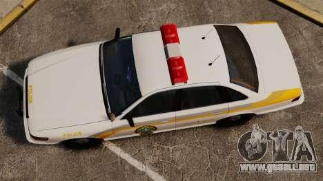 Policía Quebec para GTA 4 visión correcta