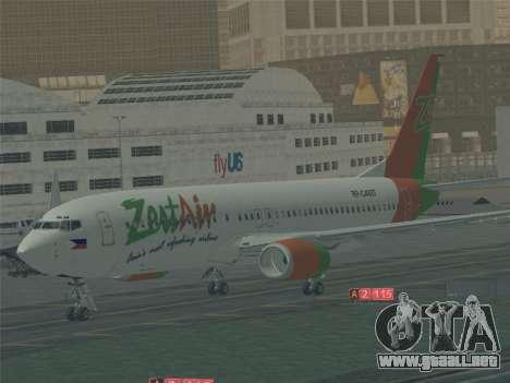 Boeing 737-800 Zest Air para el motor de GTA San Andreas