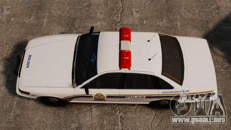 Policía de Sherbrooke para GTA 4 visión correcta