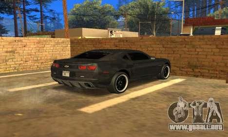 Chevrolet Camaro ZL1 2013 County Sheriff para GTA San Andreas left