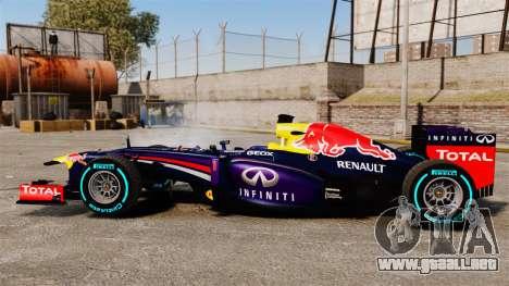 Coche, Red Bull RB9 v1 para GTA 4 left