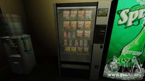 Nueva máquina expendedora de snèkovyj para GTA 4