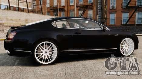 Bentley Continental GT Imperator Hamann EPM para GTA 4 left
