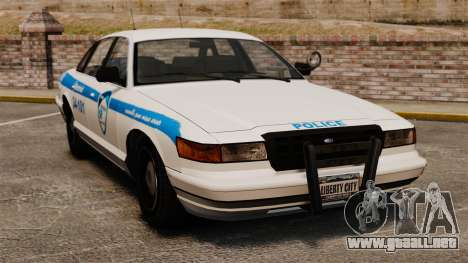 Montreal policía v1 para GTA 4