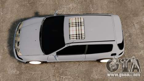 Honda Civic Gtaciyiz para GTA 4 visión correcta