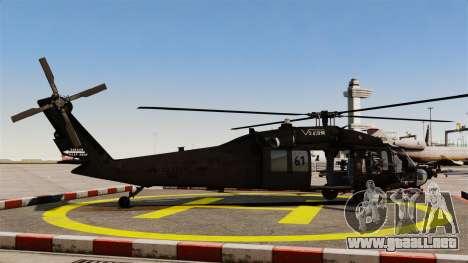 Sikorsky MH-60L Black Hawk para GTA 4 left