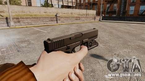 Pistola Glock 20 para GTA 4 tercera pantalla