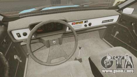 Dacia 1310 Sport v1.2 para GTA 4 vista interior