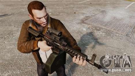Ares Shrike para GTA 4 adelante de pantalla