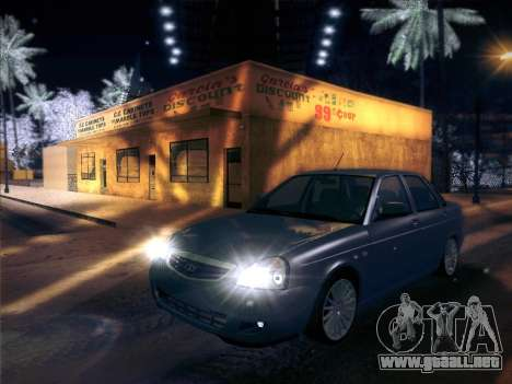 VAZ-2170 para visión interna GTA San Andreas