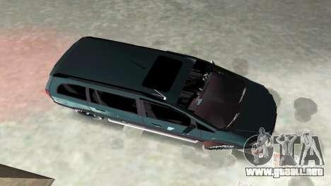 Opel Zafira para GTA Vice City vista interior
