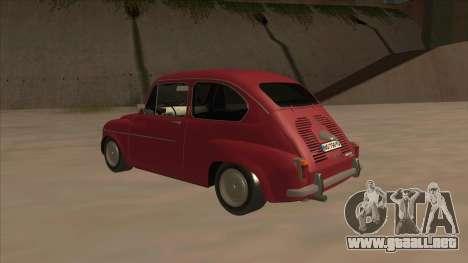 Zastava 750 Fico para la visión correcta GTA San Andreas